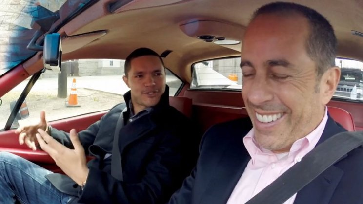 Trevor Noah and Jerry Seinfeld