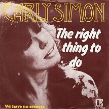 carly-simon-the-right-thing-to-do-elektra-3-s