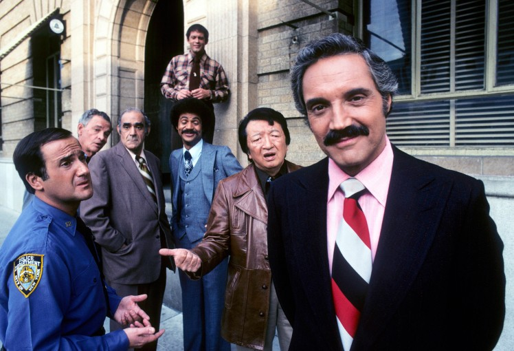 RON CAREY;JAMES GREGORY;ABE VIGODA;RON GLASS;MAX GAIL;JACK SOO;HAL LINDEN