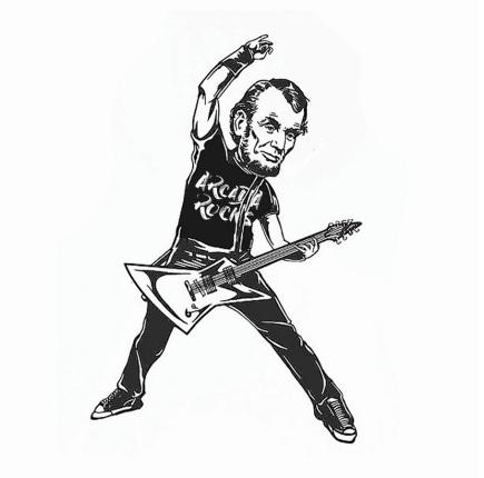 Abe guitar hero
