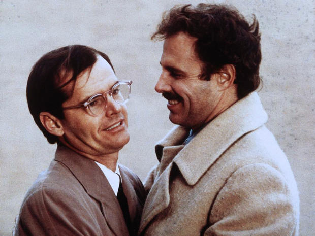 Jack Nicholson and Dern in The King of Marvin Gardens