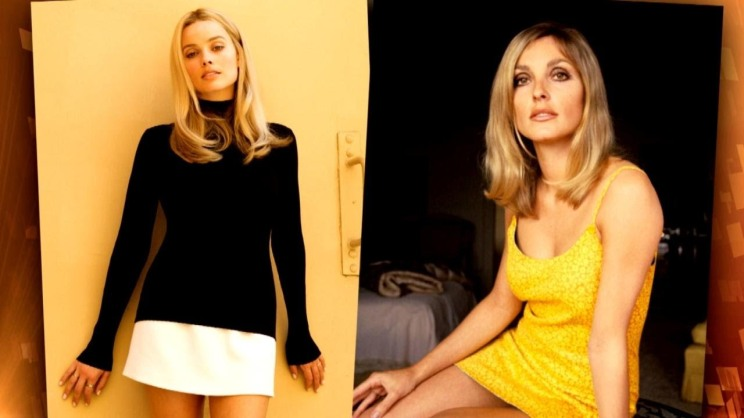 Margot Robbie and Sharon Tate