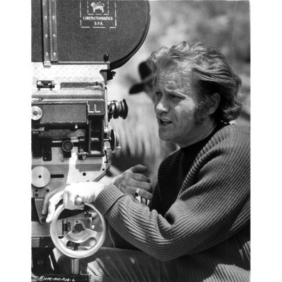 Vic-Morrow-directing-Photo-Print